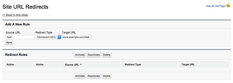 Community URL Redirect - intmist